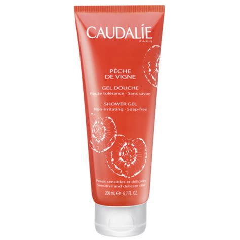 Caudalie Shower Gel by Caudalie Peche De Vigne Shower Gel 200ml Free Delivery