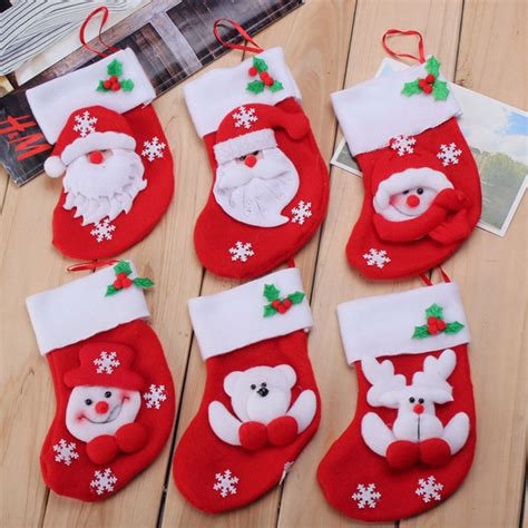 pattern for christmas stocking cutlery holder 6pcs christmas stocking tableware xmas cutlery knife fork