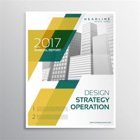 brochure template yellow yellow business brochure template vector free download