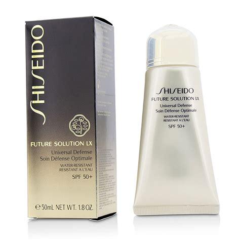 Shiseido Future Solution Lx Universal Defense Spf 50 Pa 50ml Ori shiseido future solution lx universal defense spf 50 fresh