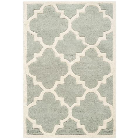 Pantofel Grey Ivory 2 safavieh chatham grey ivory 2 ft x 3 ft area rug cht730e 2 the home depot
