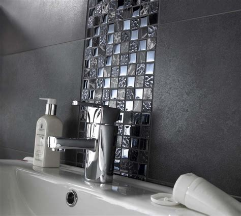 black mosaic bathroom natural stone glass mosaics black mix only 163 8 25 a