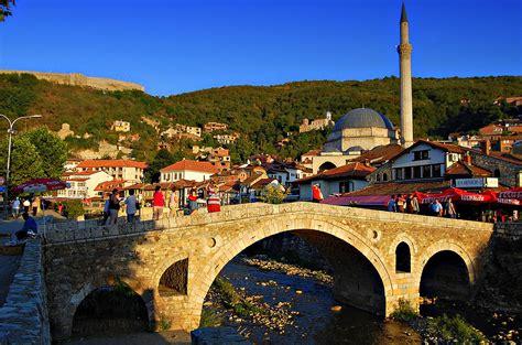 Creative Wallpaper by File Prizren Stone Bridge Sinan Pasha Mosque And City
