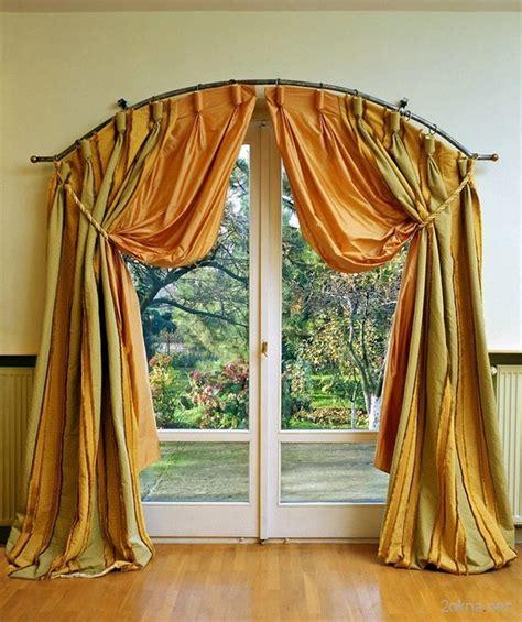 tende alle finestre tende alle finestre ad arco foto e idee di design