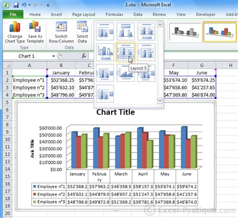 excel graph layout 5 excel course inserting graphs