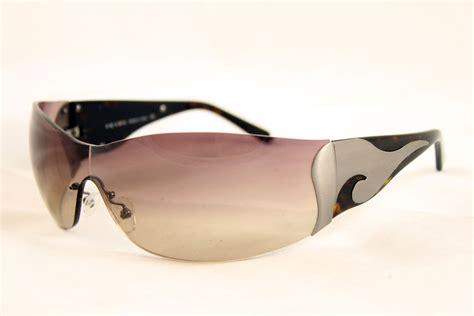 Designer Sunglasses by Prada Womens Executive Luxury Brown Designer Sunglasses
