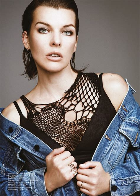 milla jovovich interview 2018 glass meets modelling and acting phenomenon milla jovovich