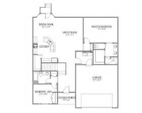 simple open floor house plans great room floor plan home ideas pinterest