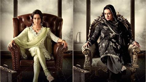 film the queen s sister see an aging shraddha kapoor in new haseena the queen of