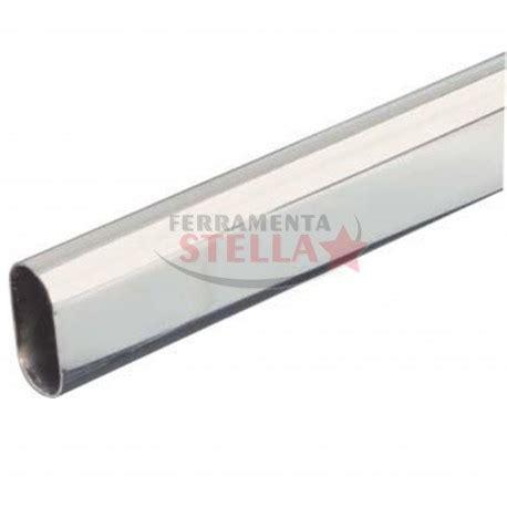 tubo appendiabiti per armadio tubo per armadio appendiabiti cromato 15 x 30 ovale