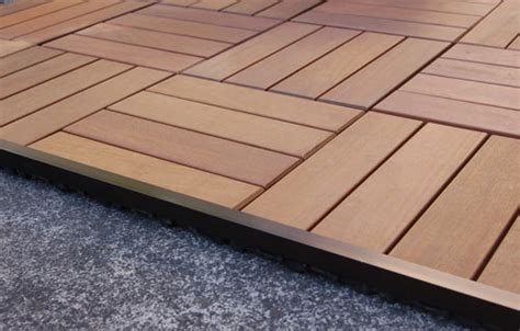 wood patio pavers resideck composite wood patio pavers