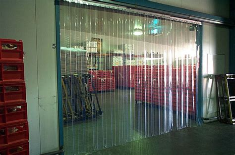 strip curtains for walk in freezers 5 x 8 industrial strip curtain door cooler freezer dock
