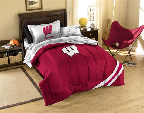 bed in a bag twin wisconsin badgers twin bed in a bag set