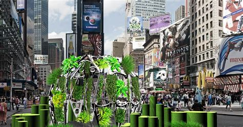 Garden Times Square by Global Design New York Times Square Electronic