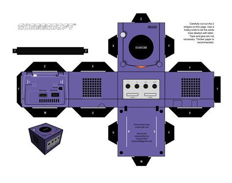 Papercraft Nintendo - papercraft nintendo gamecube 183 manualidades de papel