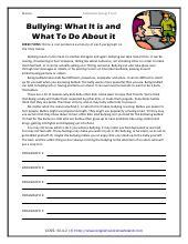 summarizing informational text worksheets
