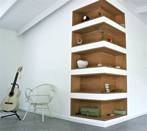 In Wall Shelves 25 Best Ideas About Recessed Shelves On