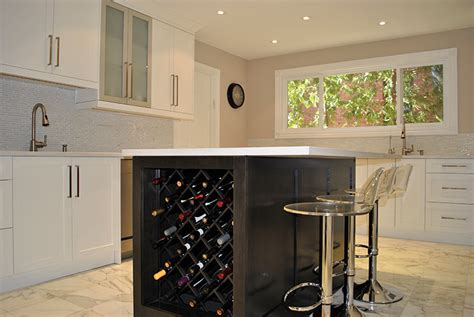 kitchen islands toronto toronto and thornhill custom transitional kitchen design kitchen island with wine rack sosfund
