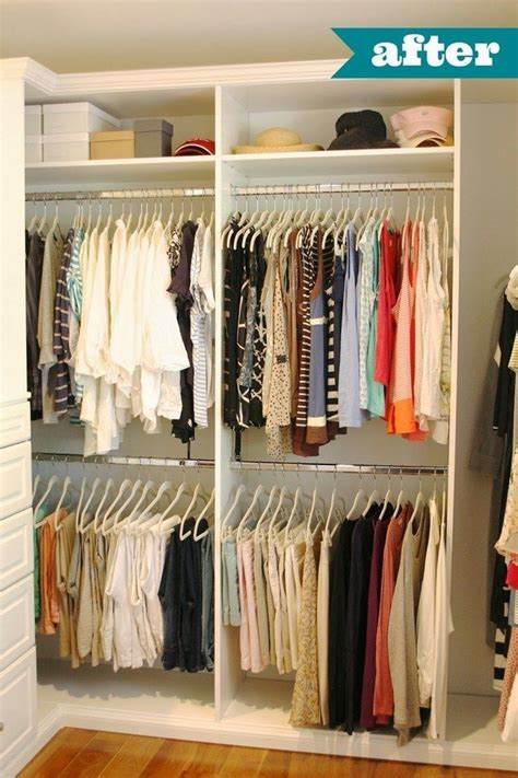 Organizing Shirts In Closet by 1000 Images About Walk In Closet Remodel On Pinterest