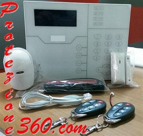 antifurti casa senza fili professionali kit antifurto allarme senza fili professionale dfd 6 casa