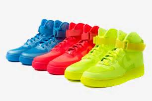 colored air ones nike sportswear 2011 fall winter air 1 hyperfuse