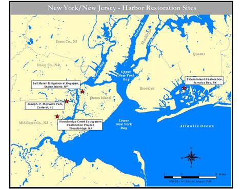 map new york harbor new york harbour map gallery