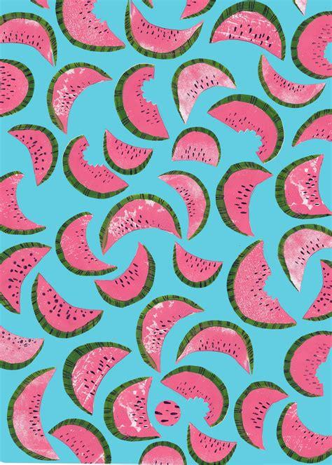 watermelon pattern tumblr many watermelons my blue flamingo