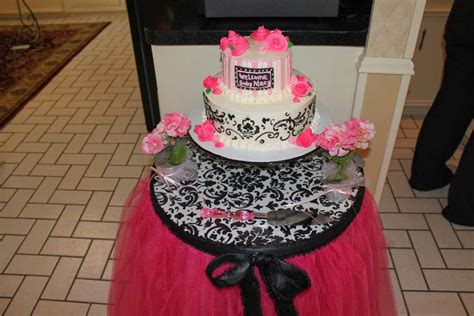Baby Milioner Bmz 0164 Pink pink and black baby shower ideas photo 8 of 10 catch my