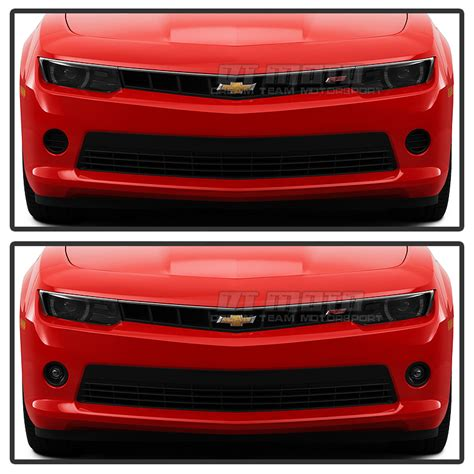 2014 Camaro Lights by 2014 2015 Chevy Camaro V6 Model Glass Projector Fog Lights Clear