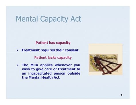 Section 6 Mental Capacity Act by Mental Capacity Act 2005 Excluding Do Ls