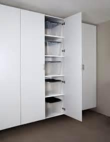 Kitchen Cabinet Recycle Bins long island new york garage cabinets storage organization