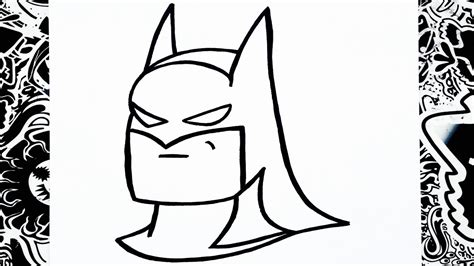 imagenes para dibujar joker como dibujar a batman how to draw batman youtube