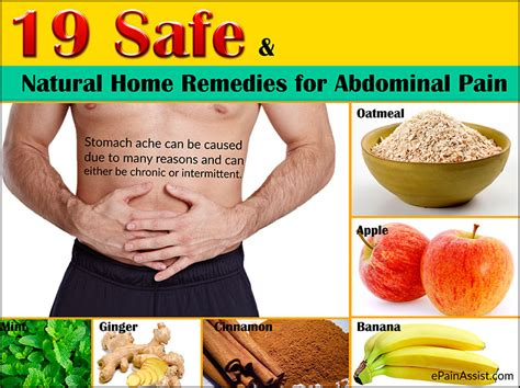 19 safe and home remedies for abdominal or