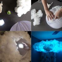 made cloud in room make a whimsical cloud light for your room