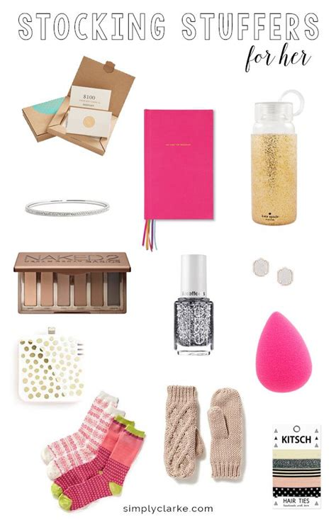 stocking stuffer ideas for her best 25 stocking stuffers for her ideas on pinterest