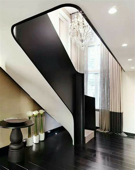 black staircase stunning black and white stairs products detailing