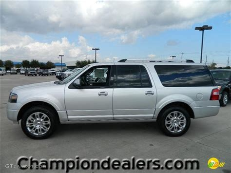 Ford Expedition 2012 by 2012 Ingot Silver Metallic Ford Expedition El Limited