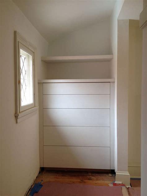 custom built in dresser by the philadelphia woodworking