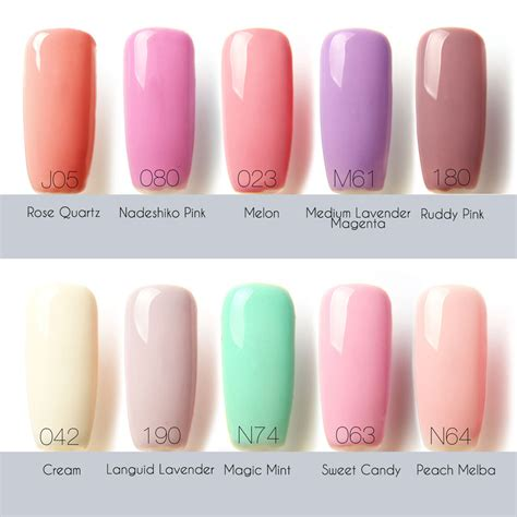 mocospace color code gel manicure colors springy ibd just gel colors