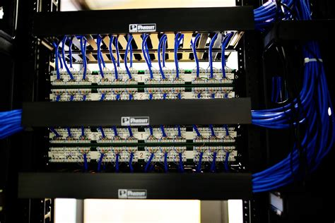 Wire Management 1u Murah datacenter what is the proper way to manage cabling patch panels server fault