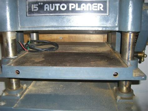 msc  industrial wood thickness auto planer nice