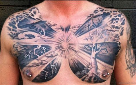 family chest tattoos for men 64 mind blowing tree tattoos for chest