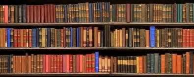 Books Shelf pin books on shelf clip art vector online royalty free on