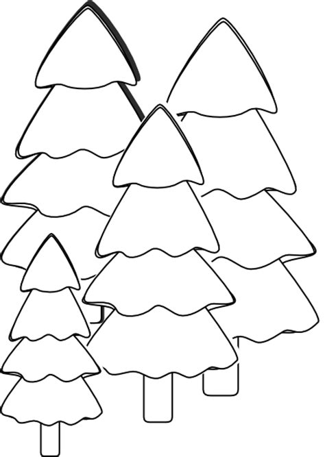 Clip Tree Outline by Outline Of A Tree New Calendar Template Site