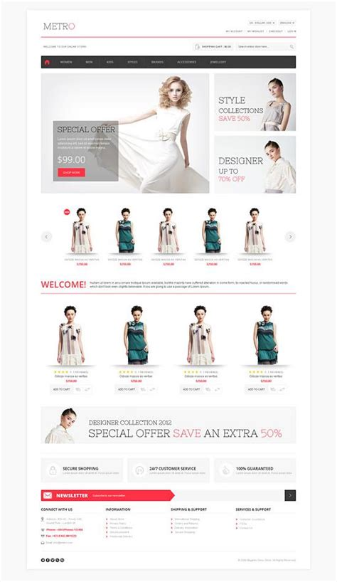 best magento templates for ideal ecommerce business