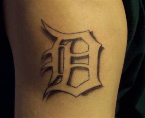 a d for tattoos detroit d finished by ashes48 on deviantart
