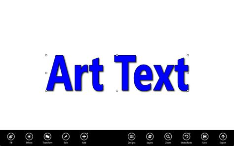 design art text art text for windows 8 10 is like wordart at a new level
