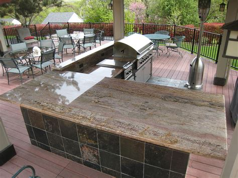 tops bar b que granite counter tops for outdoor bbq northwest custom stone