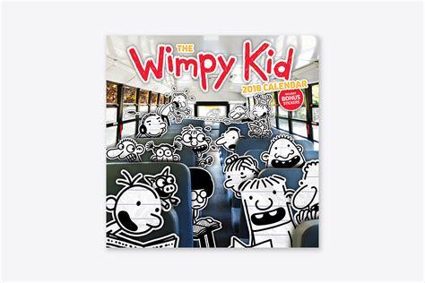the wimpy kid 2018 calendar the wimpy kid 2018 calendar wall abrams