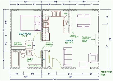 small guest house floor plans 20x30 guest house plans guest pool houses pinterest